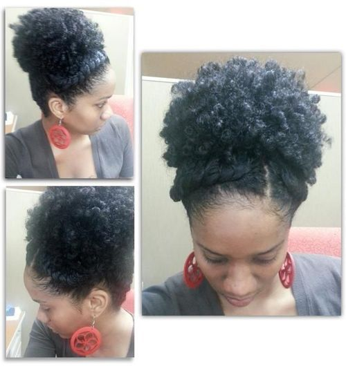 chic-curls up-do
