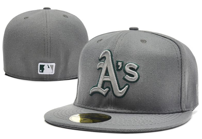 a70a2049ebe Oakland Athletics Baseball Cap Embroidered Team logo Fitted Cap  DHgatePin