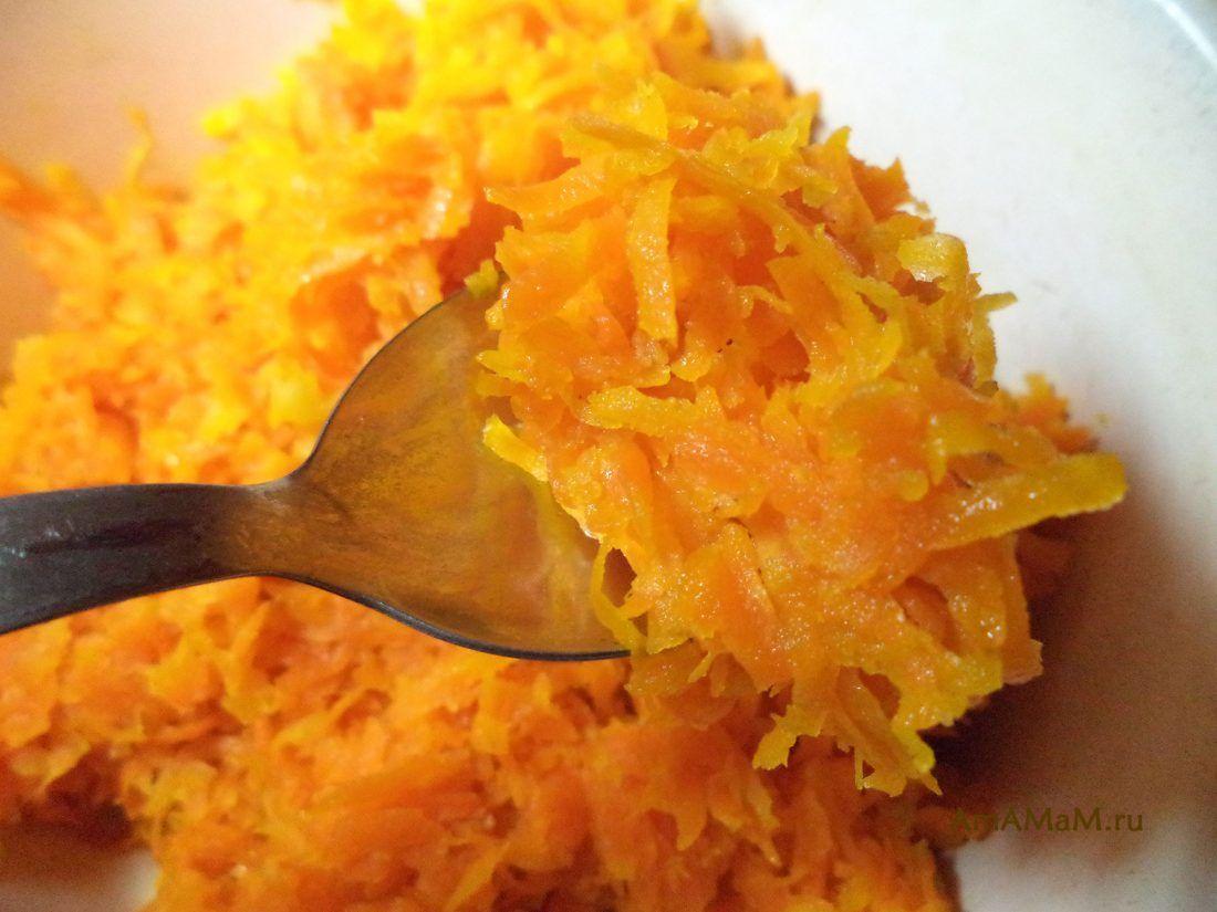 Морковная начинка для пирожков и пирогов (сладкая ...