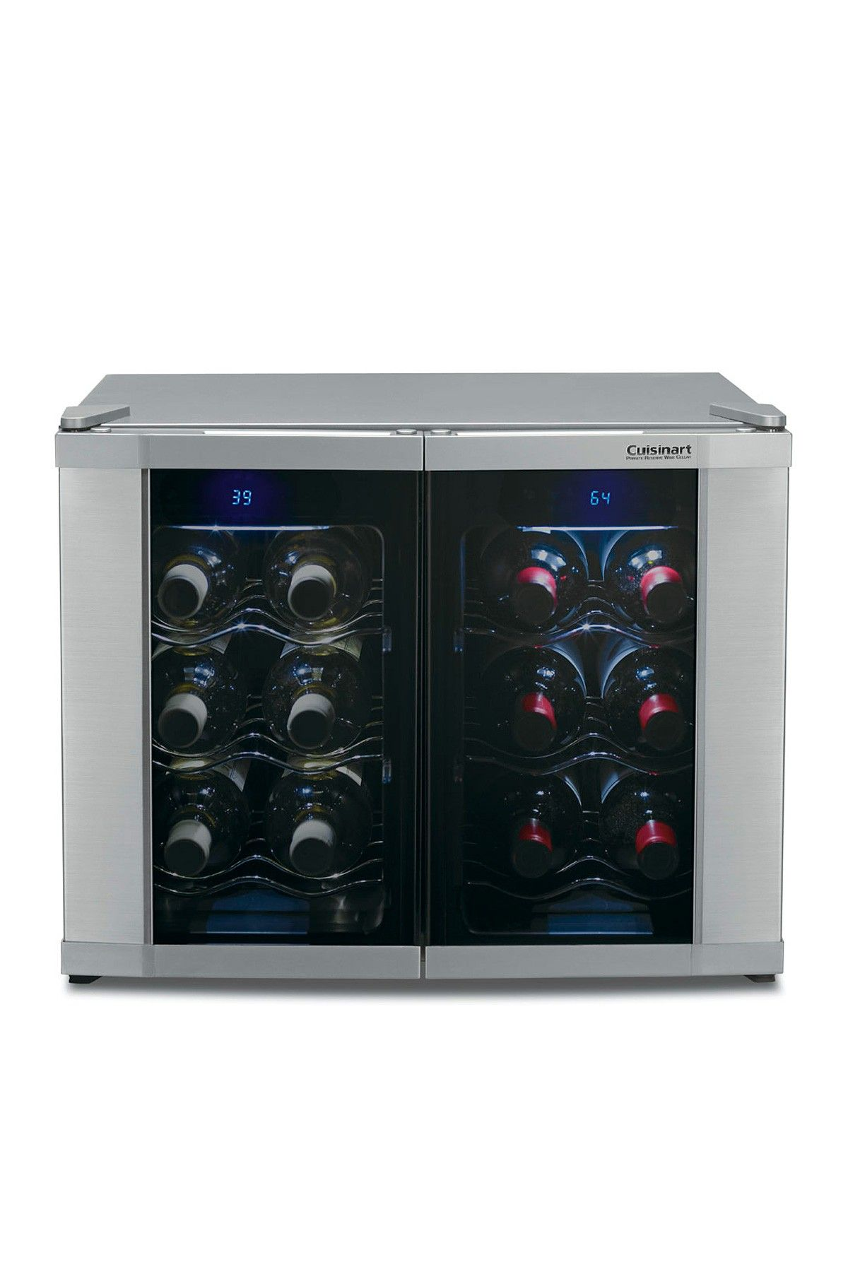 Cuisinart 12 Bottle Dual Zone Wine Cooler With Images Wine Refrigerator Dual Zone Wine Cooler Wine Cellar