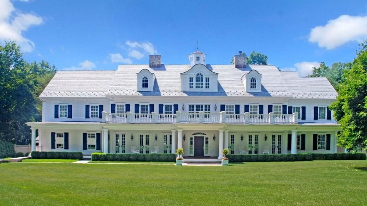 Classic Grand Colonial in Connecticut by DeMotte A