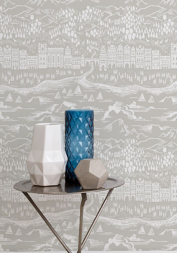 Wallpaper Province - Natural Grey by Bold  Noble at BODIE and FOU — Bodie and Fou - Award-winning inspiring concept store
