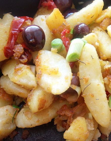 Greece Frying Potatoes Recipe