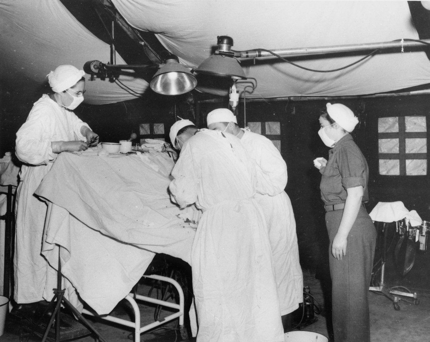 8th Evacuation Hospital Operating Room (OR) from