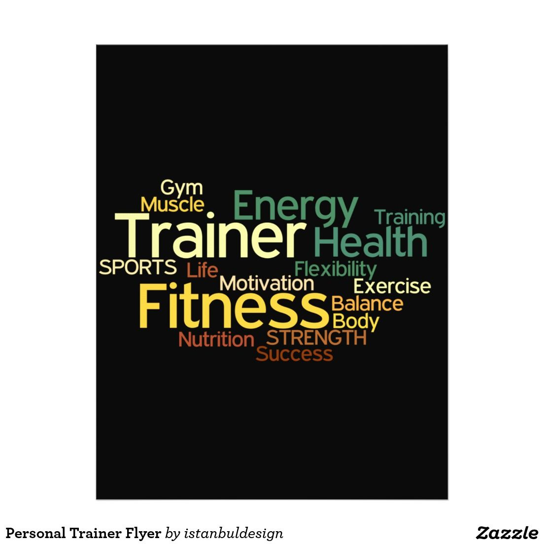 personal training flyers examples google search