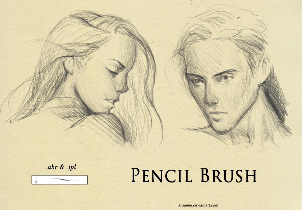 Pencil Brush by xiliuv | Illustration Inspiration