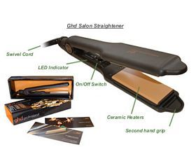 ghd Wide Plate Hair Straightener - Gold Max Edition (40mm)