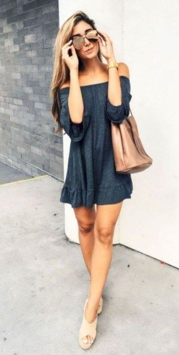 24 Cozy Dress Outfits To Wear This Summer