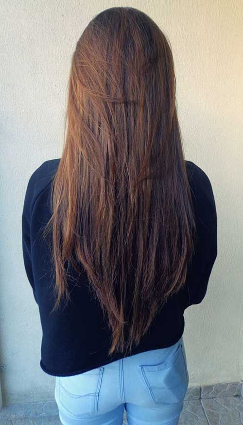 Layered Long Dark Straight Hairstyles Jpg 500 876 Long Hair Styles Long Hair Care Haircuts For Long Hair With Layers