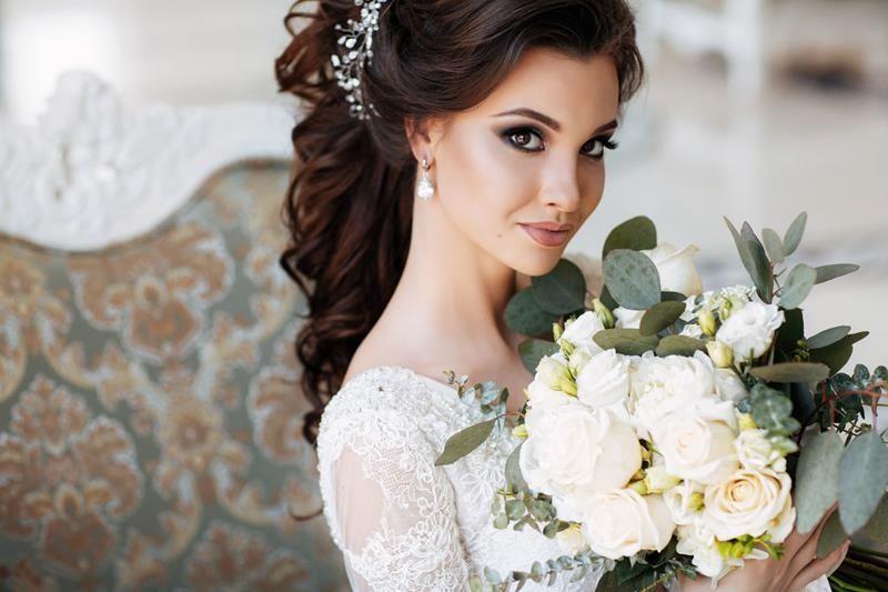 Fryzura Do ślubu Długie Włosy ślubne Fryzury ślubne