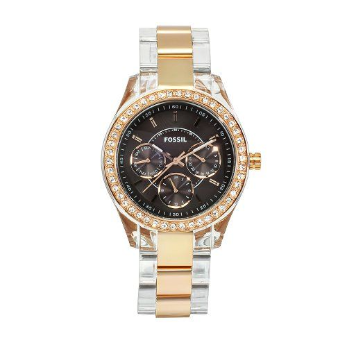 #Fossil #Women's ES2805 Stella Acrylic Bracelet With Dial #Watch       Already scratched       http://amzn.to/HRJwTf