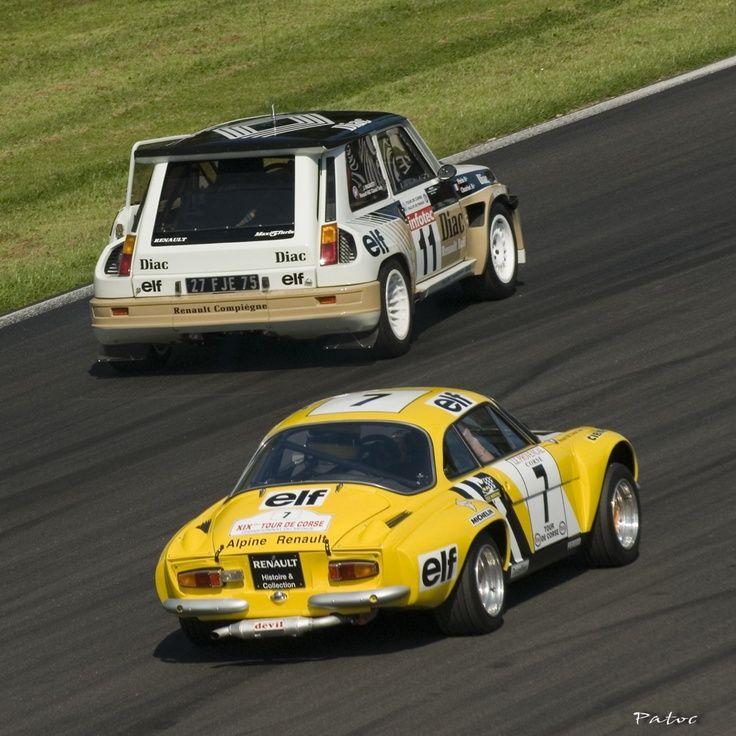 Renault R5 Turbo Renault Alpine A110 Rally Rally Rally Renault
