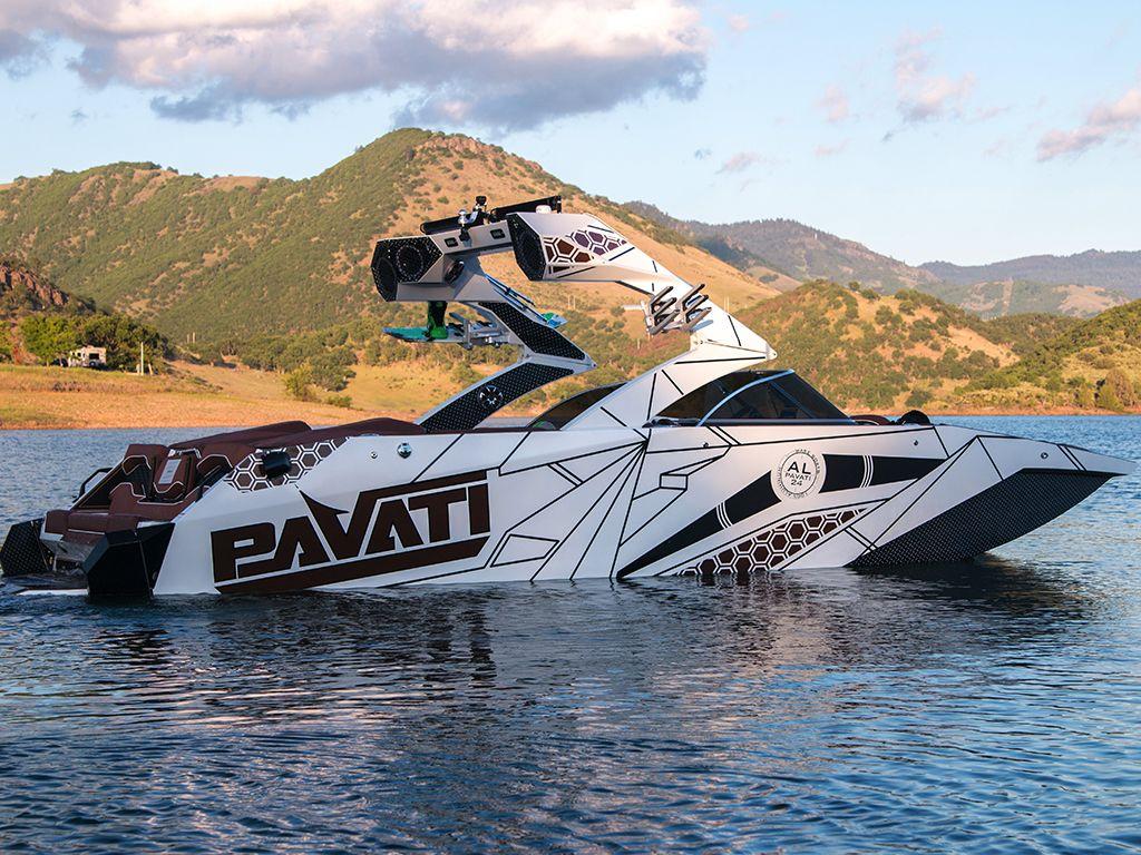Pavati Al24 Wake Boat Photos Pavati Aluminum Wake Boats Wakeboard Boats Boat Ski Boats