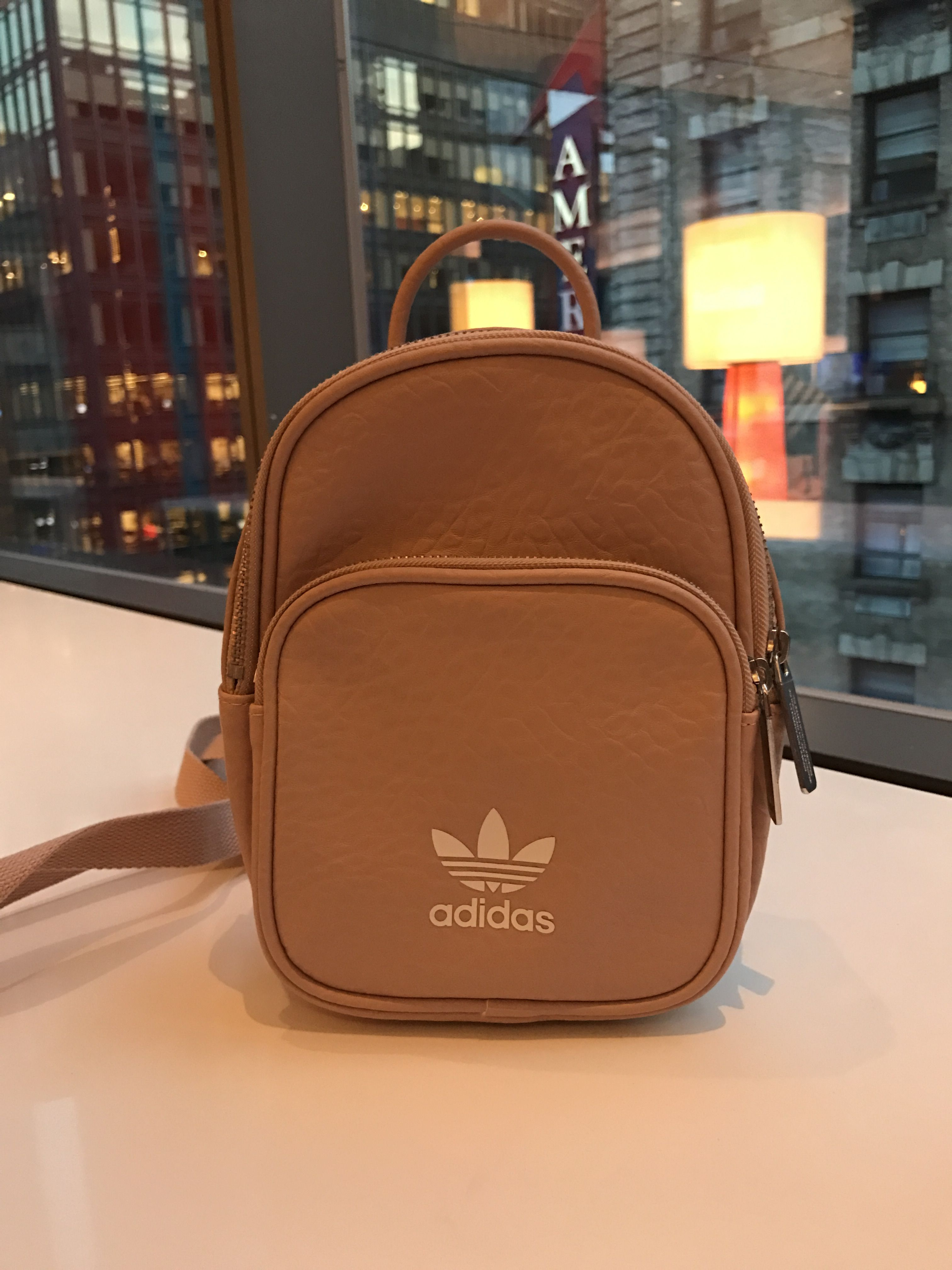 8b0acb16b07 Adidas mini backpack in nude color | Fashion adidas in 2019 | Bags ...