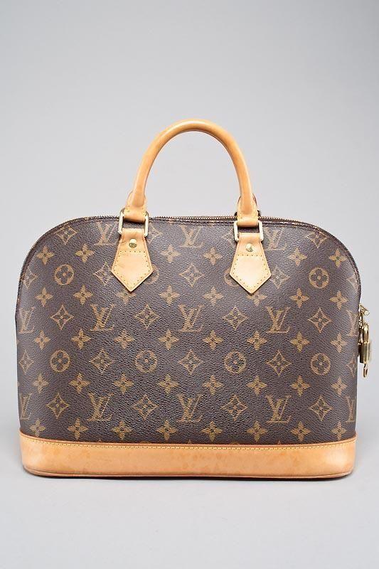 Rodeo Drive Resale Www Shoprdr Com Louis Vuitton Signature Monogram Alma Bag With Lock Key Louis Vuitton Louis Vuitton Alma Bag Vuitton