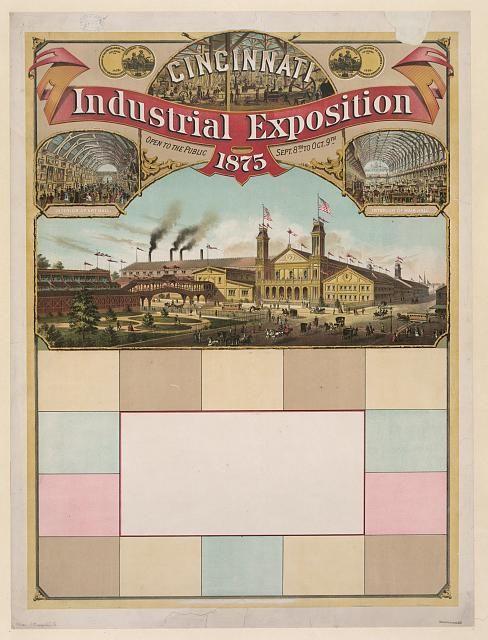 Cincinnati Industrial Exposition, 1875