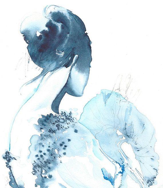 Stampe d'archiviare illustrazione di moda. di silverridgestudio