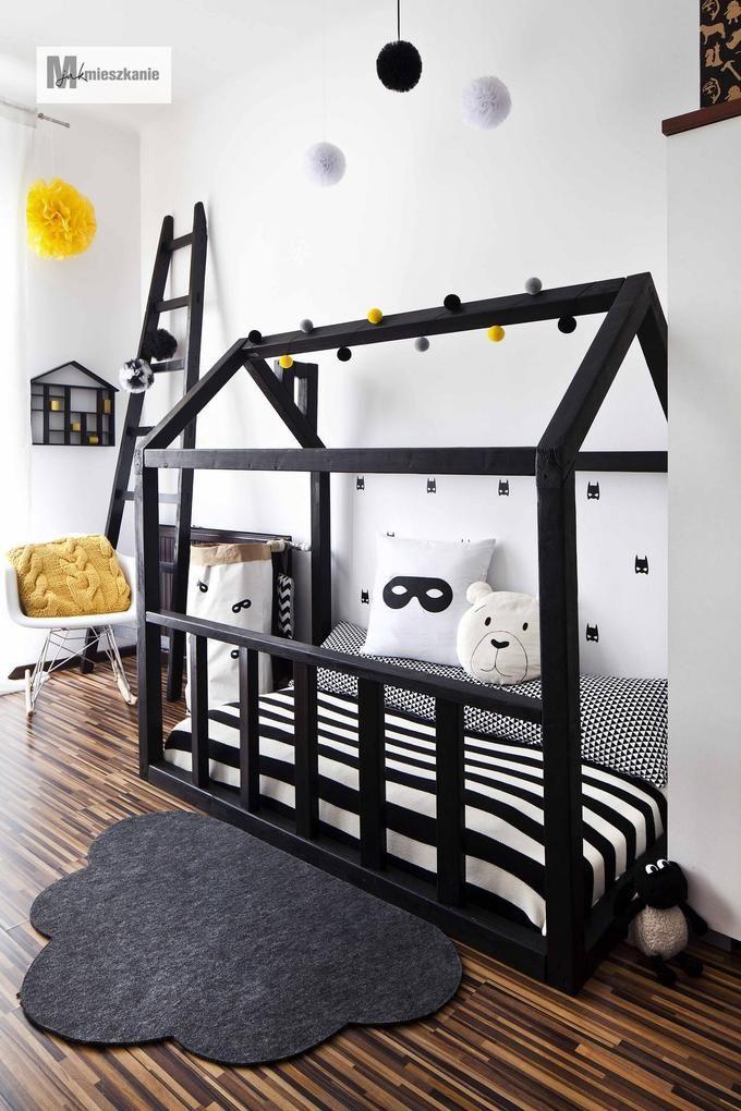 Dziecięce łóżko w kształcie domku do własnoręcznego wykonania