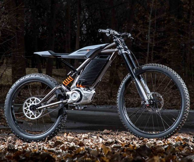Harley Davidson E Bike Concepts Electric Motorcycle