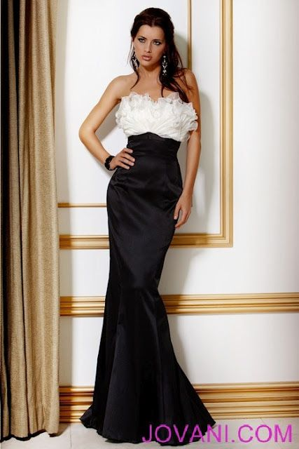 White Mermaid Prom Dresses 2012