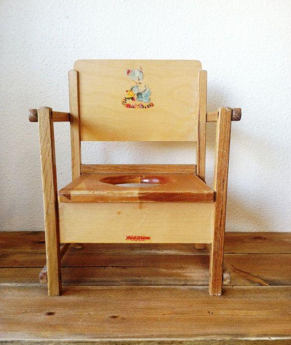 Antique Wooden Potty Chair Best 2000 Antique Decor Ideas