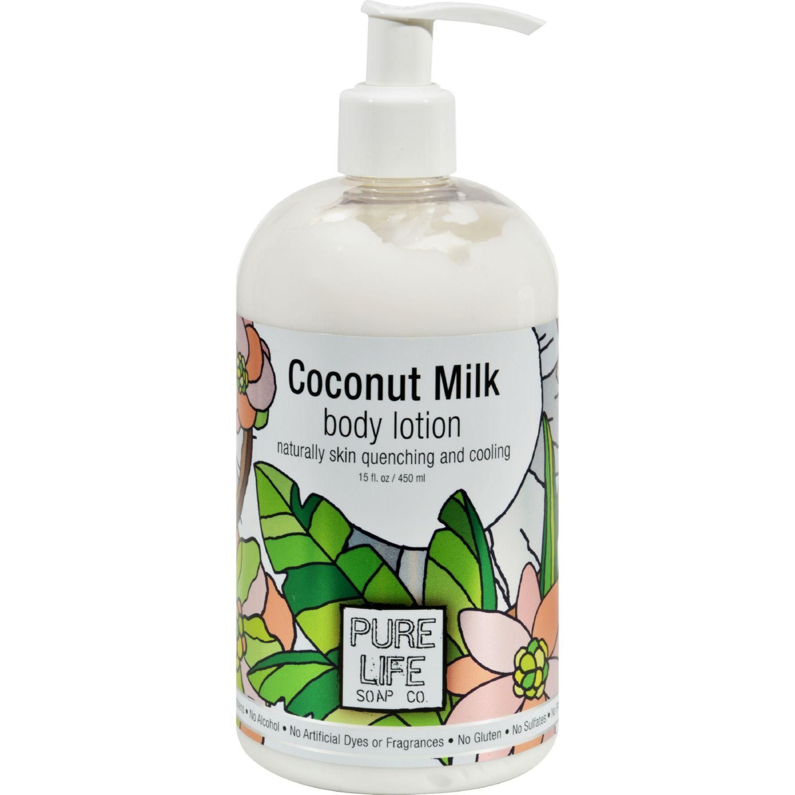 Pure Life Body Lotion Coconut 14 9 Fl Oz Body Lotion Pure Products Lotion