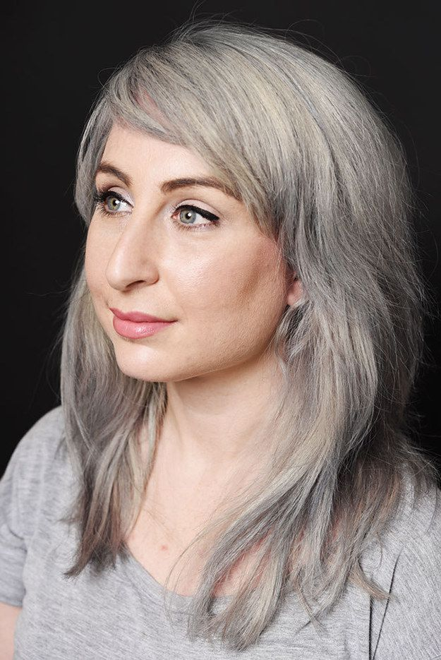 Going Gray Means A Huge Transformation, And When It's Done