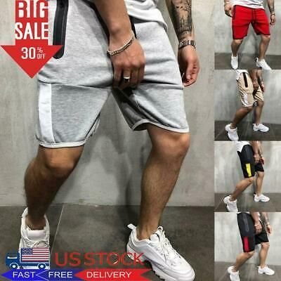 Men's Sports Training Summer Shorts Casual Loose Workout Fitness Gym Short Pants #fashion #clothing...