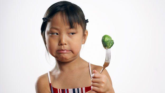 Kids vs. vegetables....tips to help the veggies win