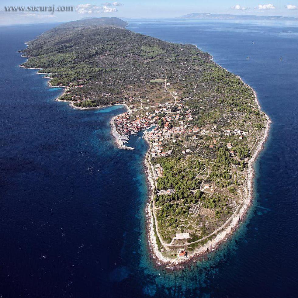sućuraj - eastern point of hvar island