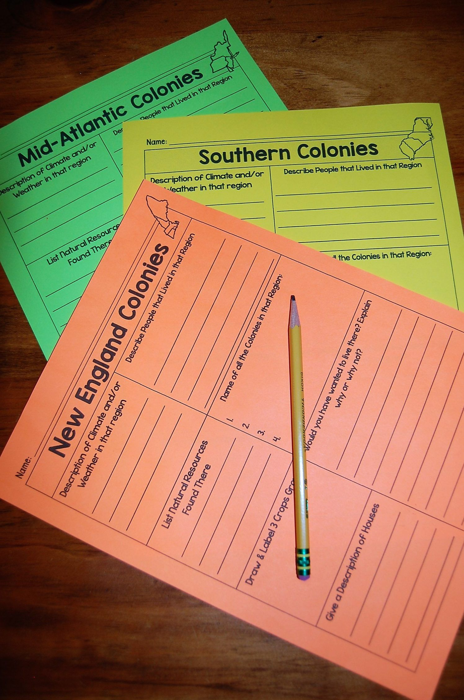 Take A Step Back In Time To The Colonial Times Social Studies Notebook Leveled Passages 13 Colonies [ 2255 x 1496 Pixel ]