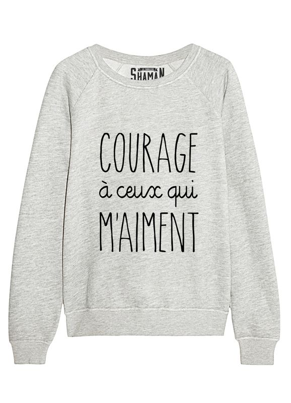 Sweat Courage Plus Mode Vetements Mode Et Mode Vetement
