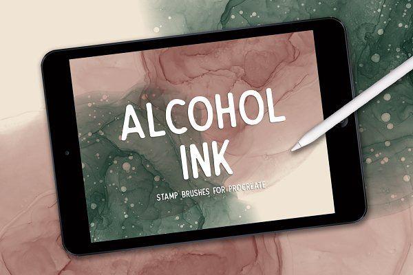 Handlettering V using procreate app on iPad pro Gothic