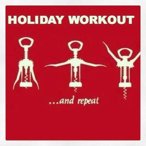Holiday workout wine opener tee shirts how to get in shape for the holidays hitrium sports - Funny wine openers ...