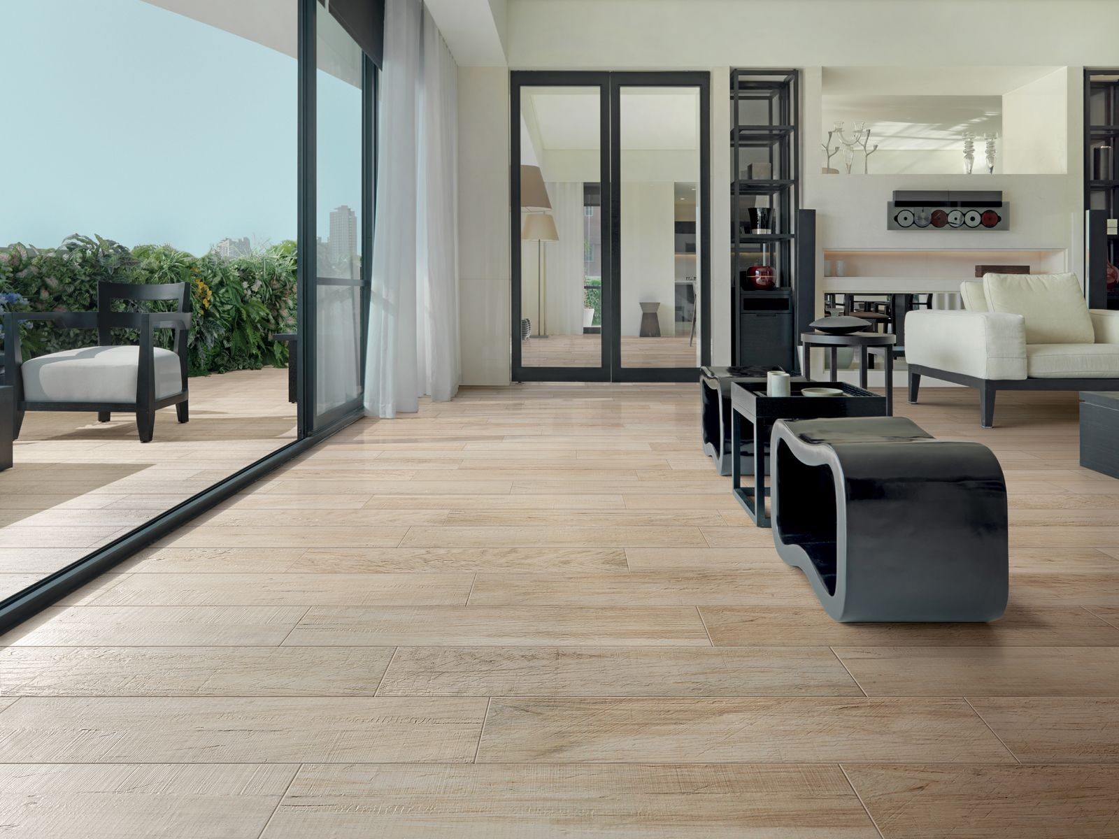 Wood Effect Tiles For Floor Wall Italian Porcelain Chalet By