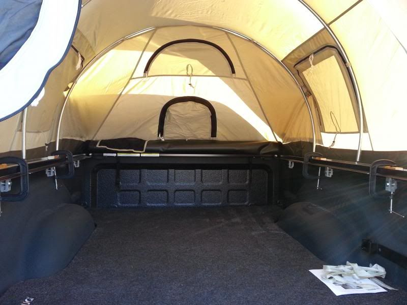 Kodiak Canvas Truck Tent On A Dodge Power Wagon Upper