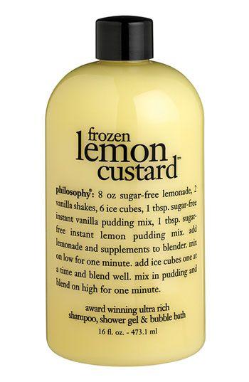 Frozen Lemon Custard- Philosophy
