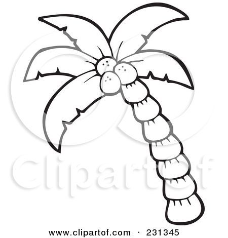 Arecaceae With Images Palm Tree Clip Art Leaf Coloring Page