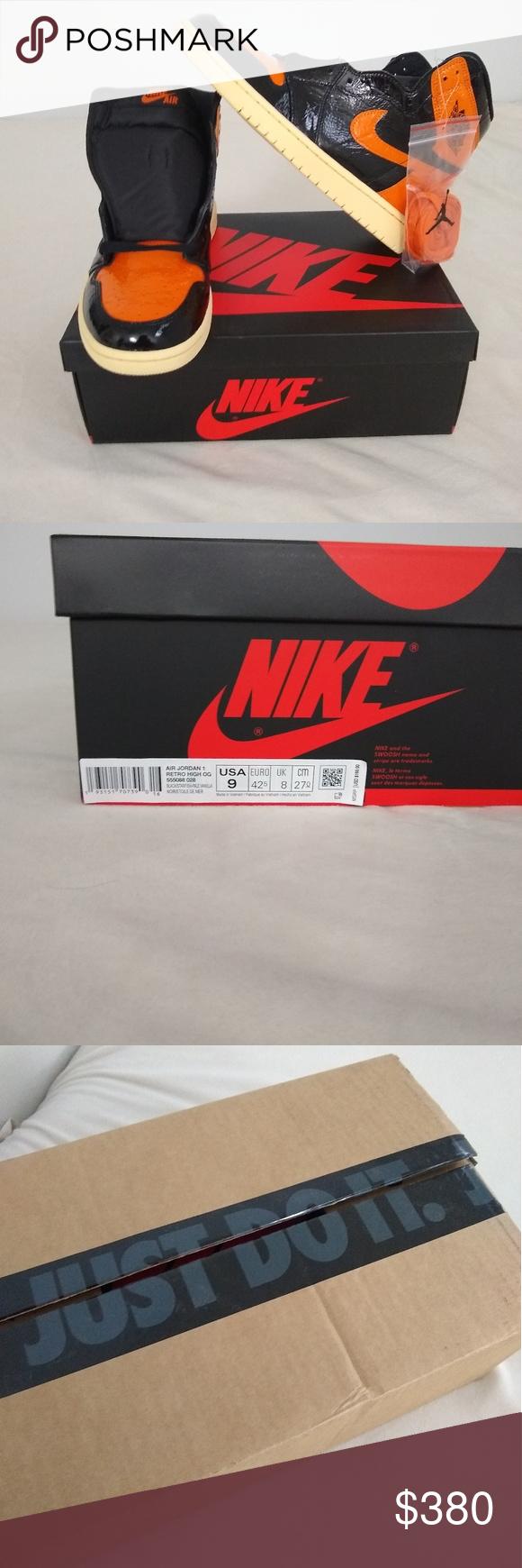 Nike Air Jordan Retro 1 Shattered Backboard 3.0 NWT Air