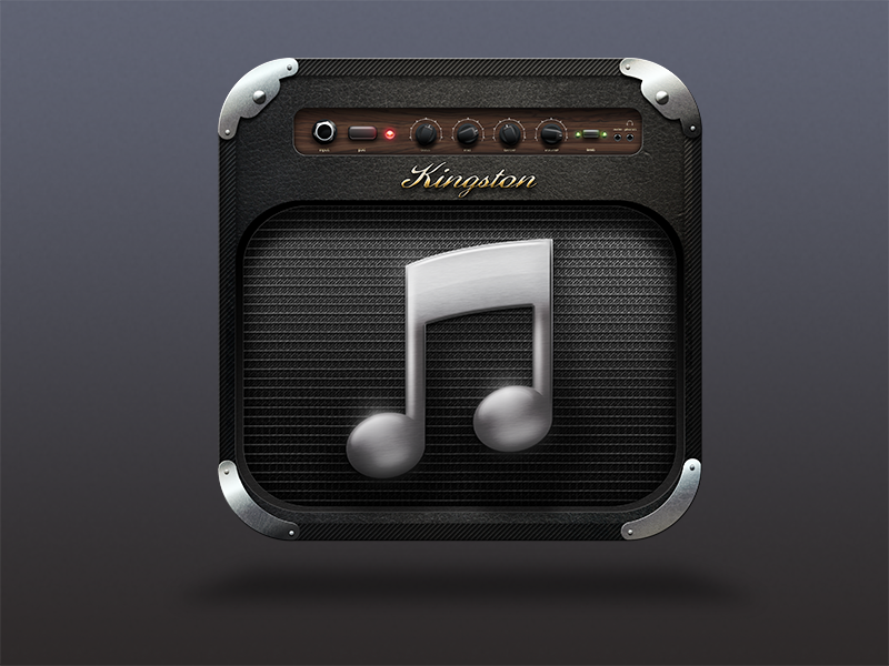 iTunes Amp App icon design, Hd icons, App icon