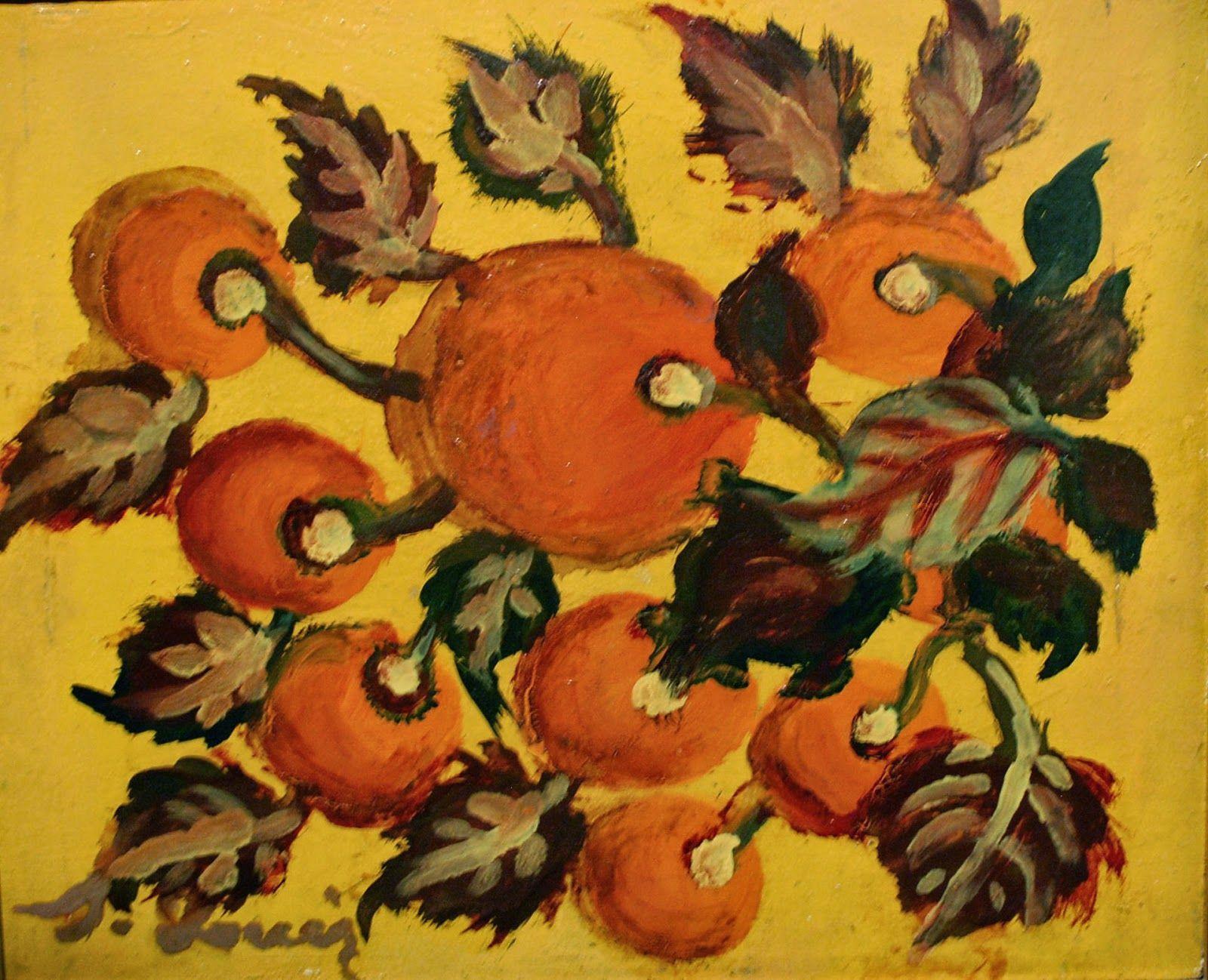 Branche de fruits by Louis Seraphine (Southwest France: Naif Museum)