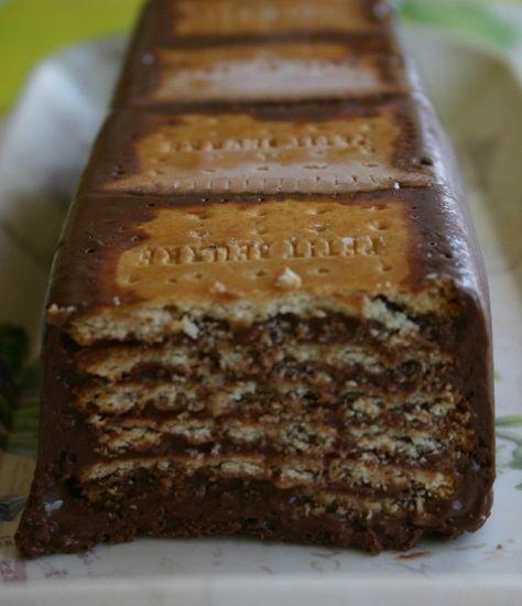 Gâteau Au Chocolat Petits Beurrechocolat Sans Cuisson Recipe Lazy - 750 grammes recette de cuisine