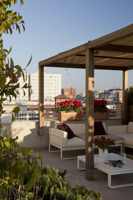 Attico Con Vista Idee Attico Design Di Balcone Appartamento Attico