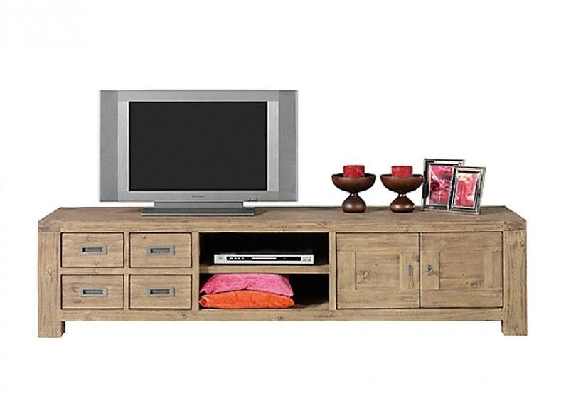 Soldes meuble tv la redoute meuble télé nevada couleurs des alpes