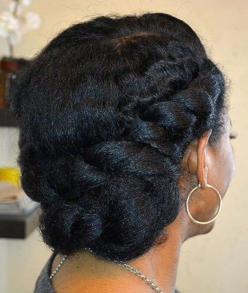 20 Hottest Flat Twist Hairstyles for This Year #naturalhairupdo
