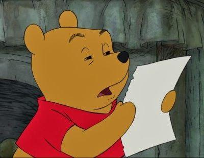 Pooh Squints at Paper Meme Maker