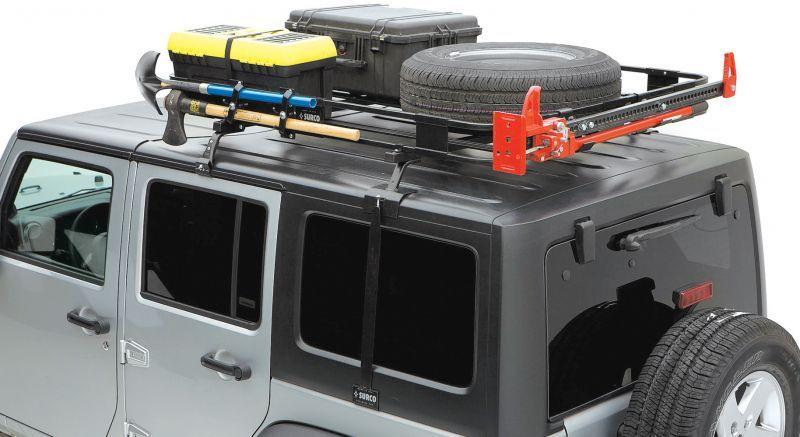 Surco Safari Hardtop Rack For 07 18 Jeep Wrangler Jk