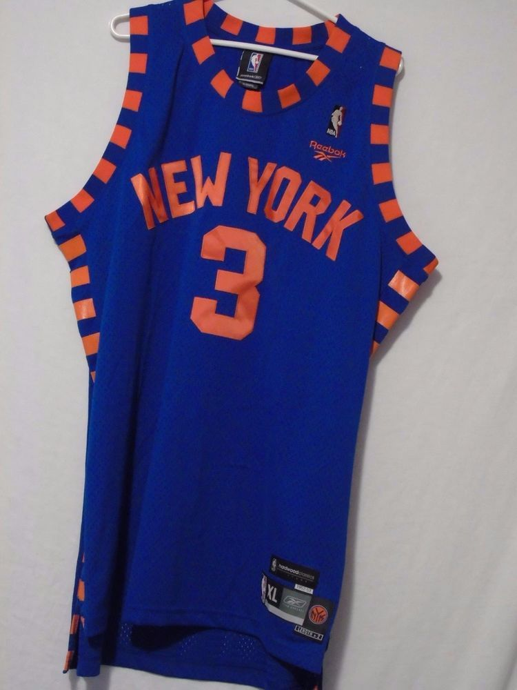 VTG STEPHON MARBURY JERSEY 1952-53 Hardwood Classics XL Reebok Knicks Stitched #Reebok #NewYorkKnicks