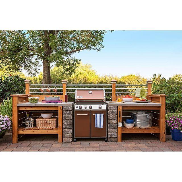 Diy Modular Kitchen: Loweshomeimprovement: Get The Look Of An Expensive Outdoor