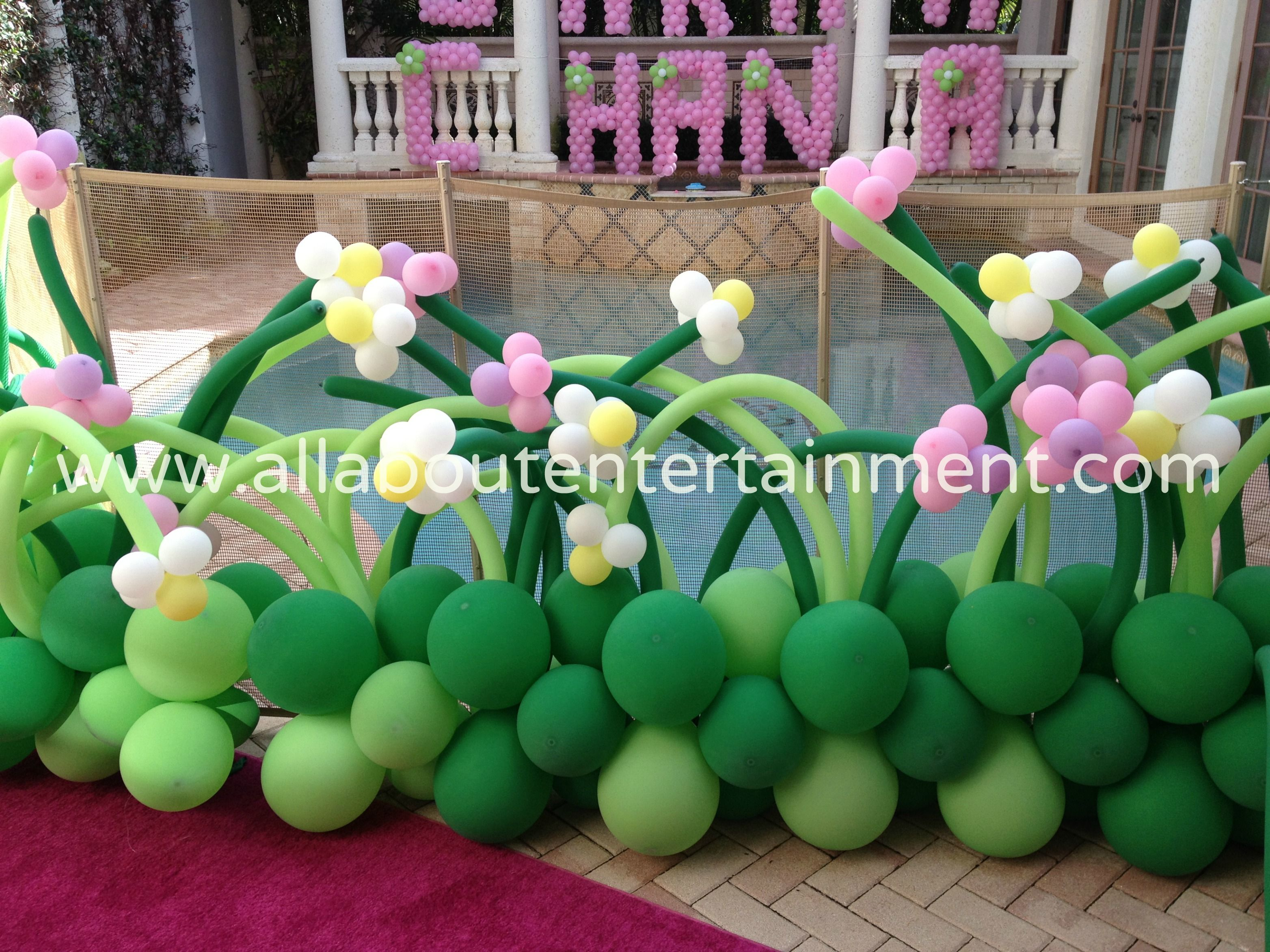 Flower Decor / Balloon Decoration / Party Ideas / May Flowers ...